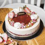 Large Gelato cake